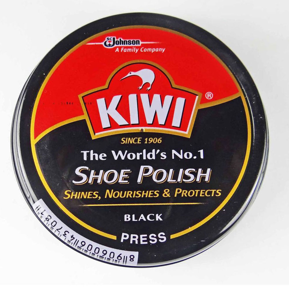 Kiwi Black Shoe Polish 36g