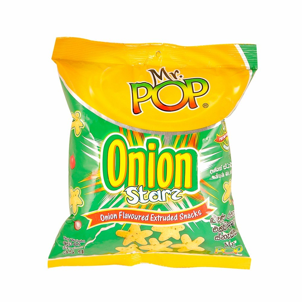 Mr Pop Onion Star 35G
