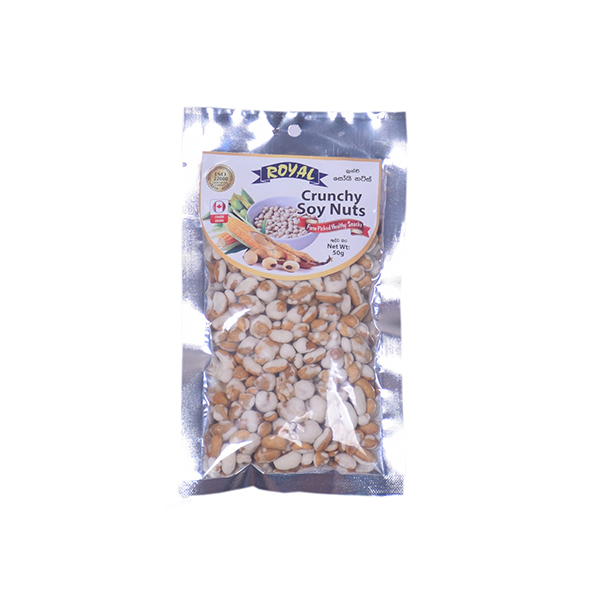Royal Cashews Crunchy Soy Nuts 50G