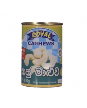 Royal Cashews Curry Tin 400g