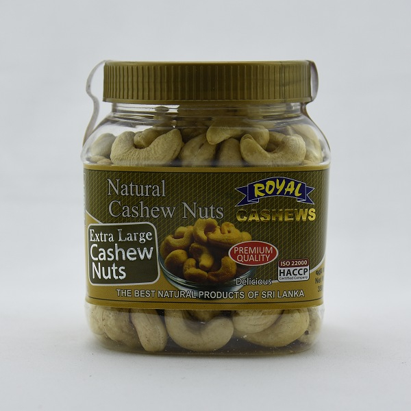 Royal Cashews Dehydrated Cashew Bottle 350g