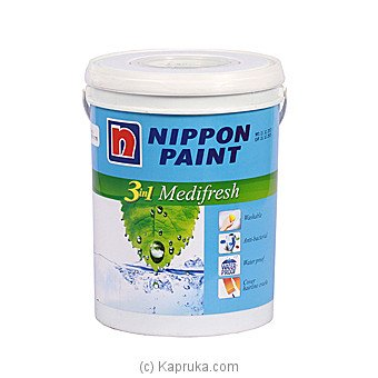 Nippon 3-In-1 Medifresh Brilliant White 1L