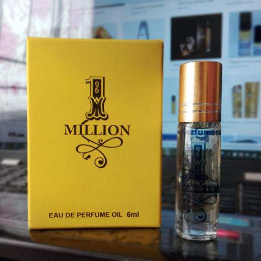 1 MILLION Roll-On Oil Perfume - 6ML