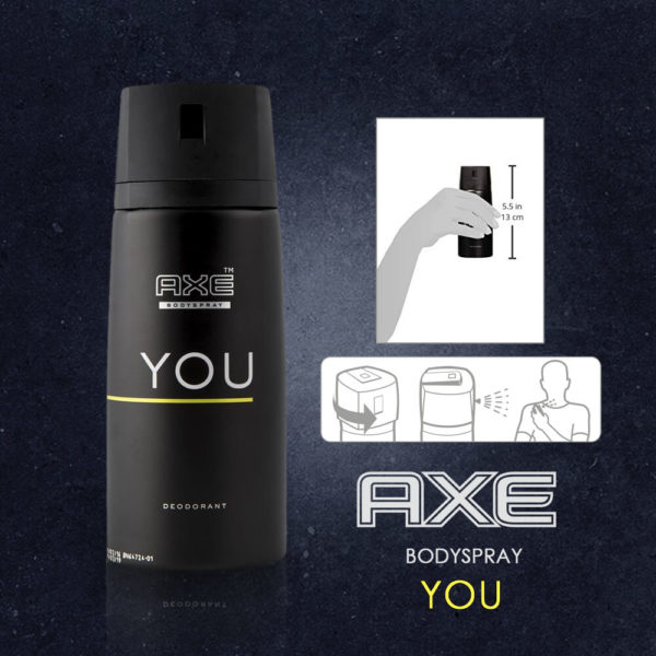 Axe Deodrant Body Spray You 150ML