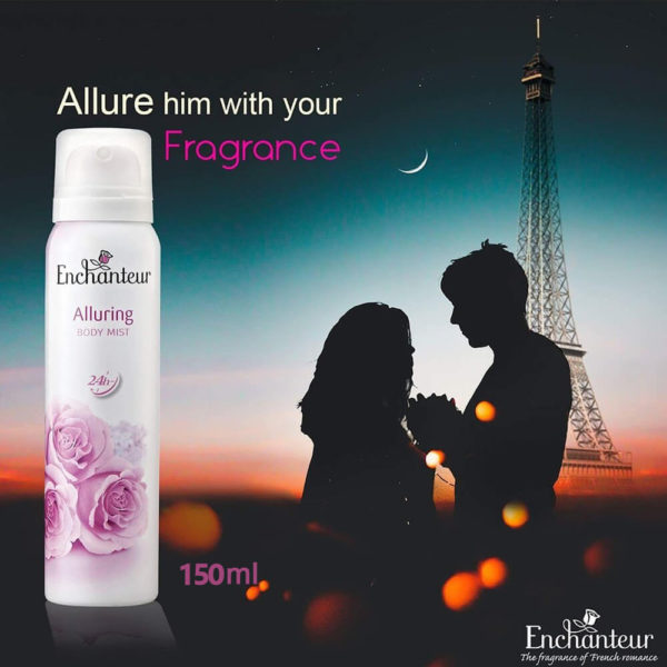 Enchanteur Body Mist Alluring 125ML