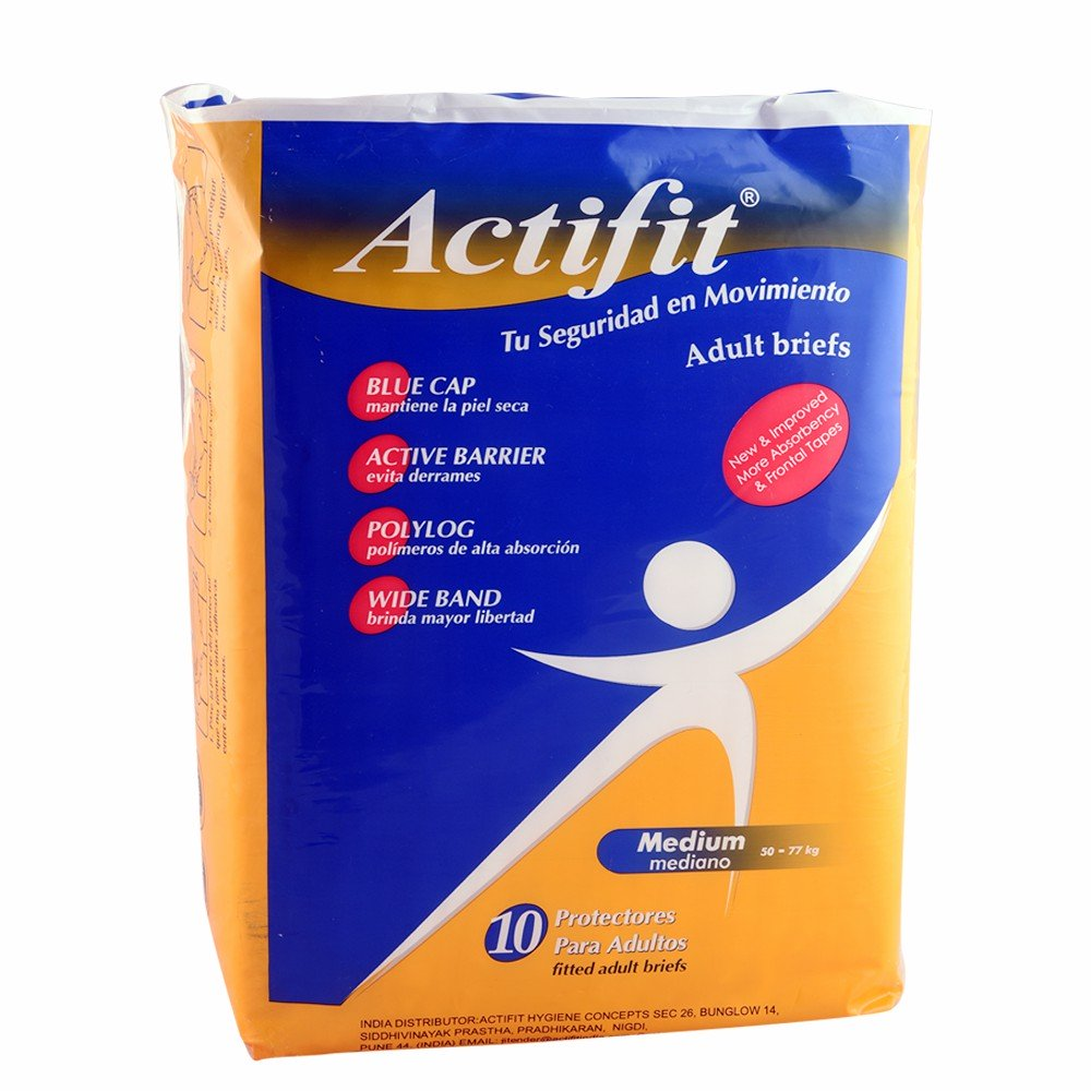 Actifit Adult Diaper M 10 Pcs