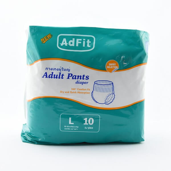Adfit Adult Diaper Pants L 10s