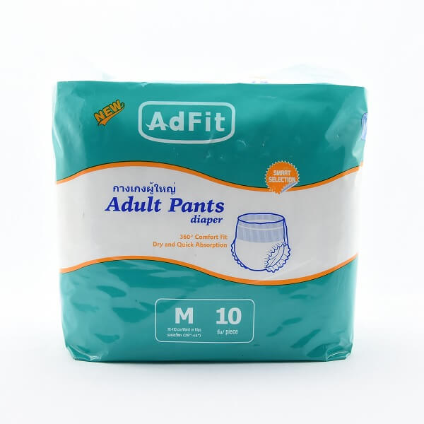 Adfit Adult Diaper Pants M 10s