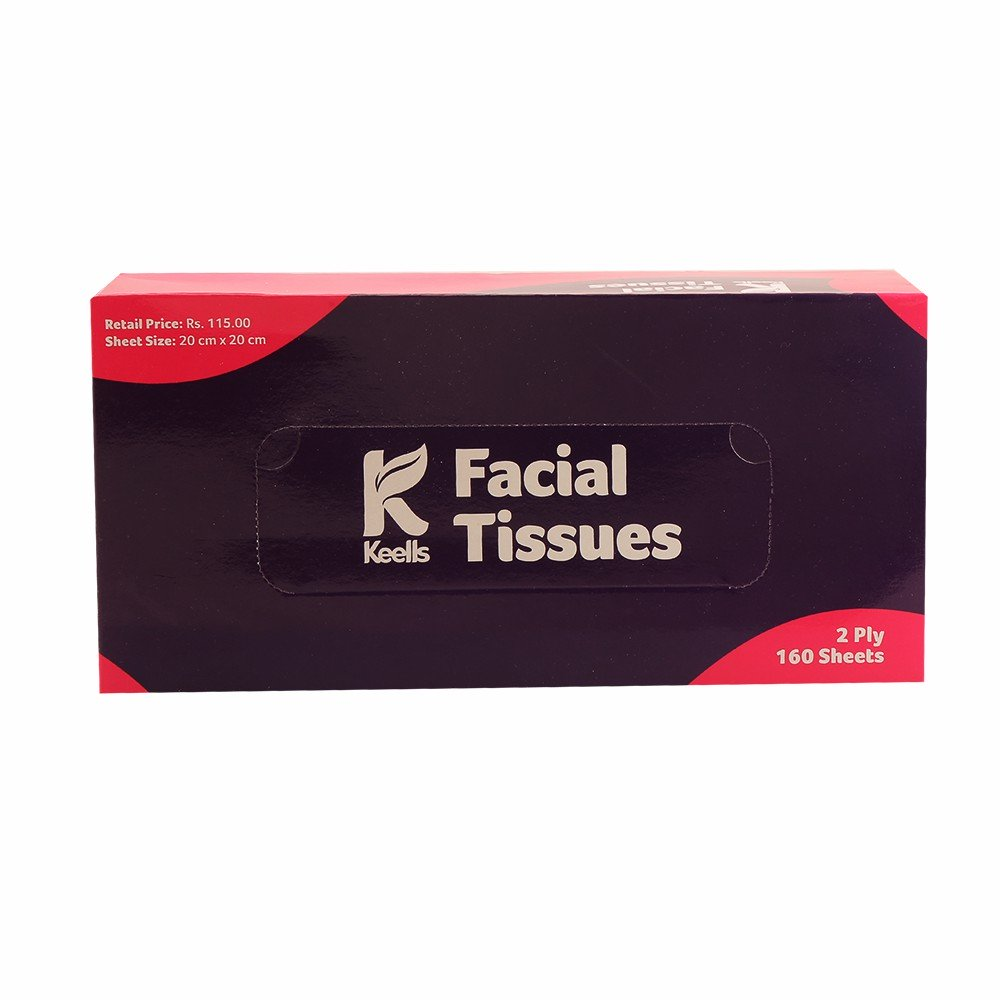 Keells Facial Tissues 2Ply 160s
