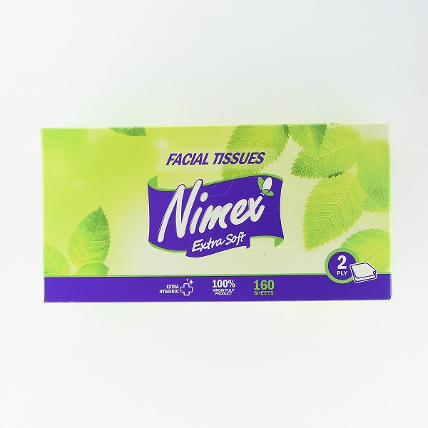 Nimex Facial Tissue Box 160s