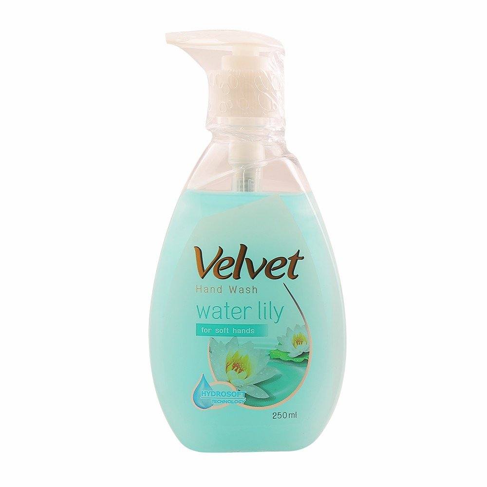 Velvet Hand Wash Water Lily 250mL