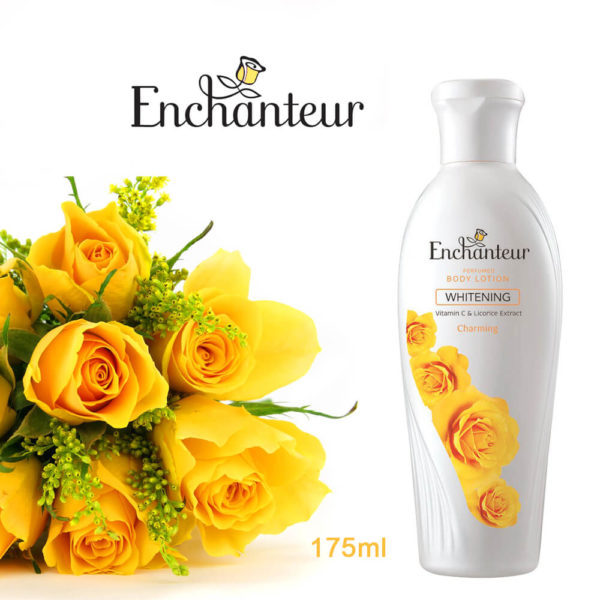 Enchanteur Whitening Vitamin C & Licorice Extract Charming Body Lotion 175mL