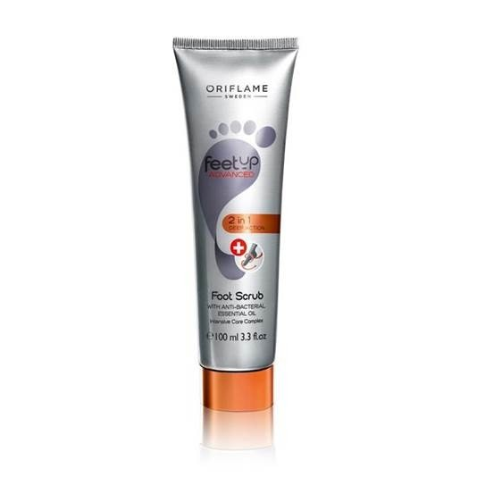 Oriflame Feet Up Advanced 2-In-1 Deep Action Foot Scrub 100mL