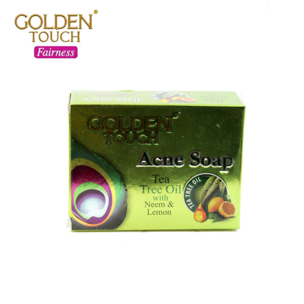 Golden Touch Acne Soap 125G
