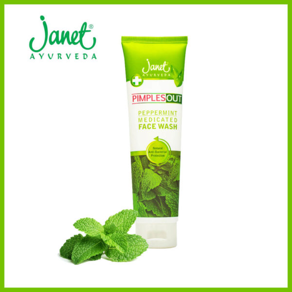 Janet Pimples Out Peppermin Facewash 150ML