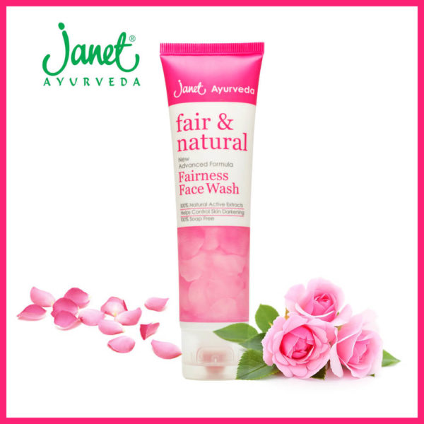 Janet Fair & Natural Fairness Face Wash