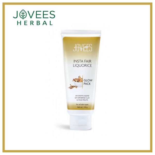 Jovees Herbal Insta Fair Liquorice Glow Pack 120G