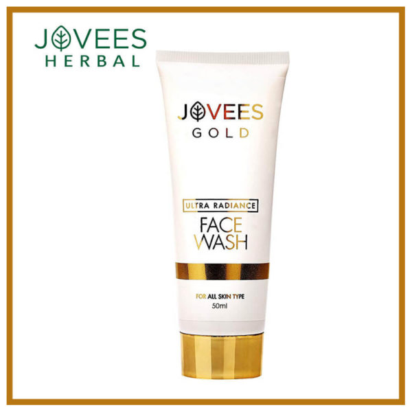 Jovees Ultra Radiance 24K Gold Face Wash 50ml