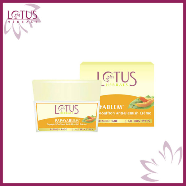 Lotus Herbals Papaya Blemish Cream