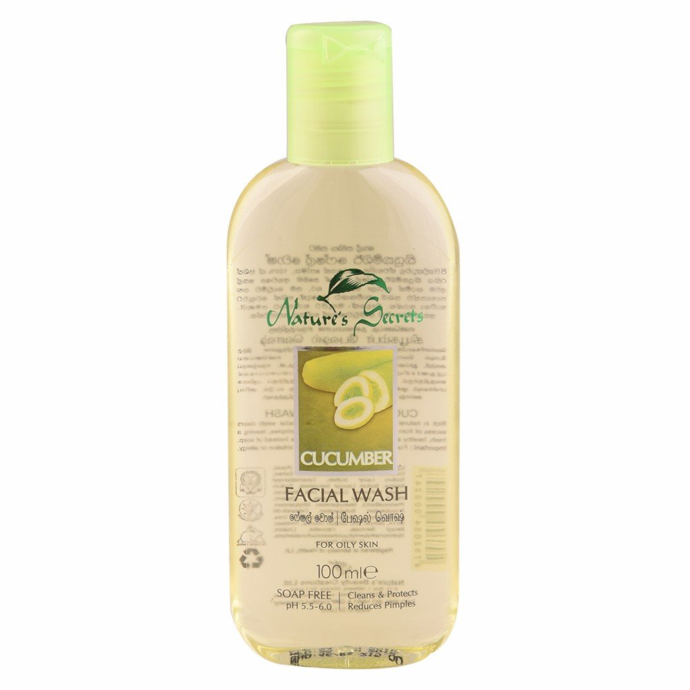 Nature's Secrets Cucumber Facial Wash 100mL