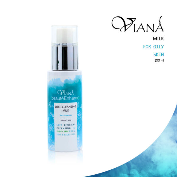 Viana Deep Cleansing Milk For Oily Skin 100ml