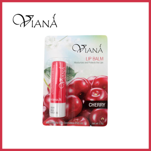 Viana Lip Balm Cherry