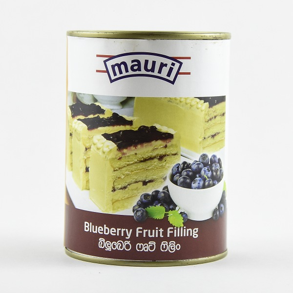 Mauri Blueberry Fruit Filling 595g