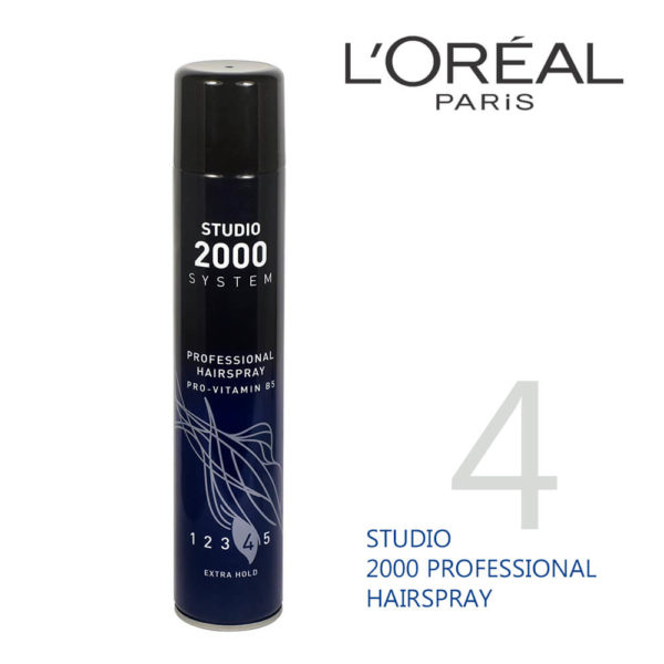 LOral Paris Studio 2000 Profssional Hairspray Extra Hold 400ML