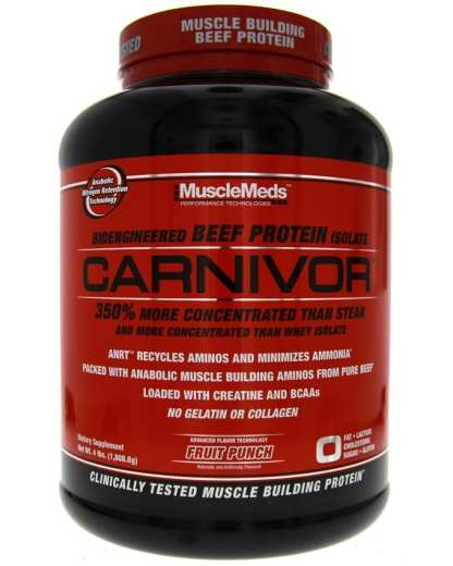 Musclemeds Carnivor Beef - 4LBS - Fruit Punch