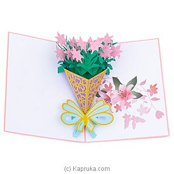 Birthday 3D Popup Greeting Card