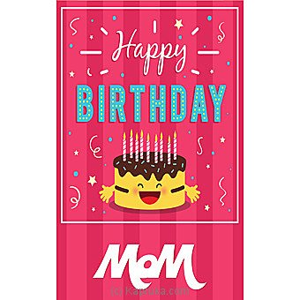Birthday Greeting Card For Mom