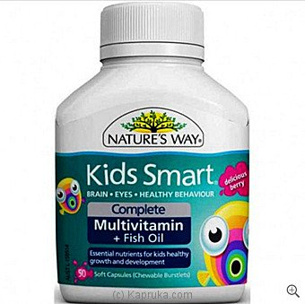 Nature's Way Kids Smart Multivitamin 50s