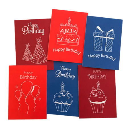 Noteworthy Foiled Greeting Cards