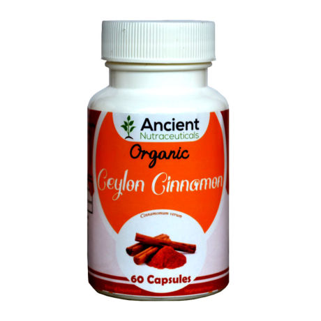 Ancient Nutraceuticals Natural Cinnamon Capsules 60CAPS