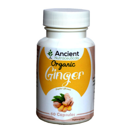 Ancient Nutraceuticals Natural Ginger Capsules 60CAPS