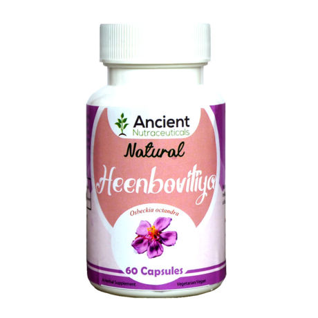 Ancient Nutraceuticals Natural Heenbovitiya Capsules 60CAPS