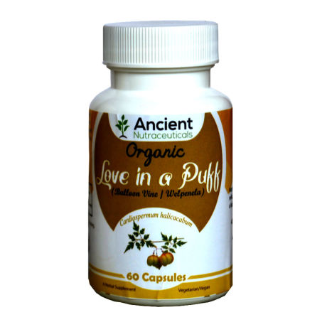 Ancient Nutraceuticals Natural Love in A Puff Capsules 60CAPS