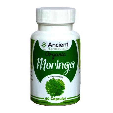 Ancient Nutraceuticals Natural Moringa Capsules 60CAPS