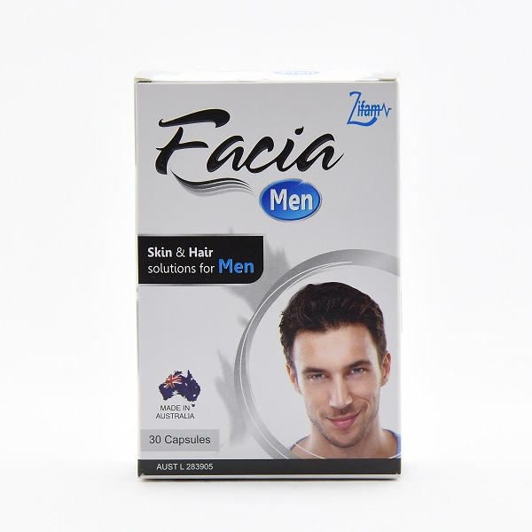 Facia Men Skin & Hair 30 Capsules