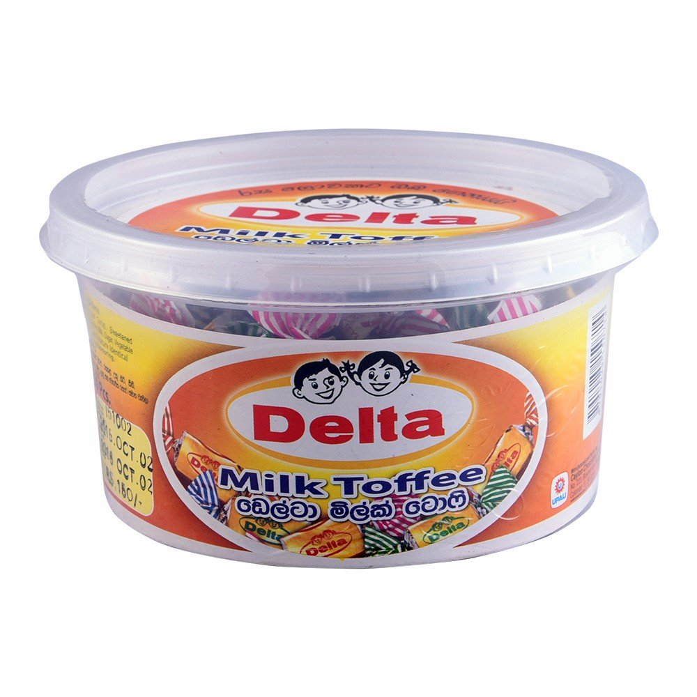 Delta Milk Toffee 50Pcs