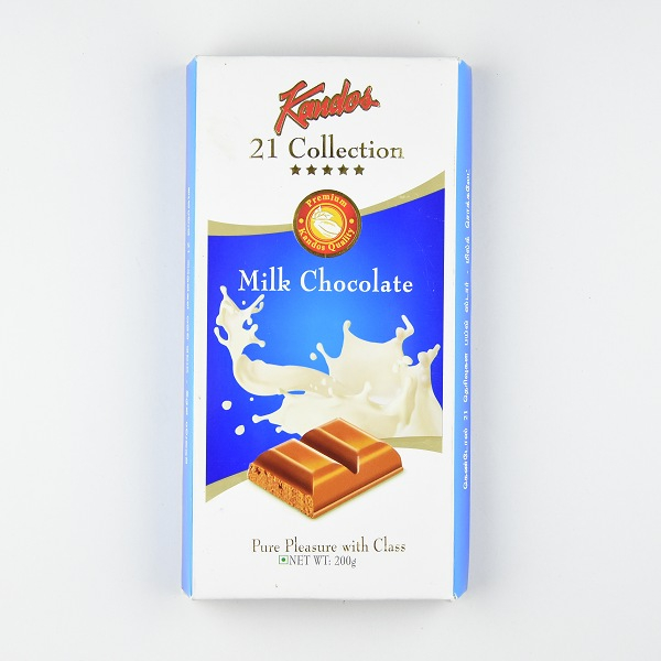 Kandos 21 Collection Milk Chocolate 200g