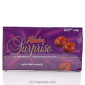 Kandos Surprise Milk Chocolate 160g