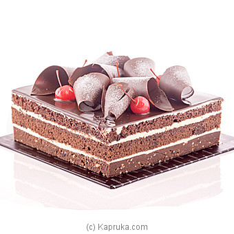 Kapruka Chocolate Brownie Delight Cake