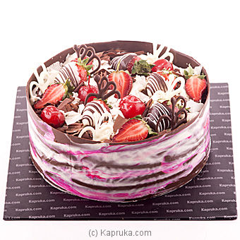 Kapruka Strawberry Gateau
