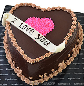 Kapruka To My Heart Chocolate Cake