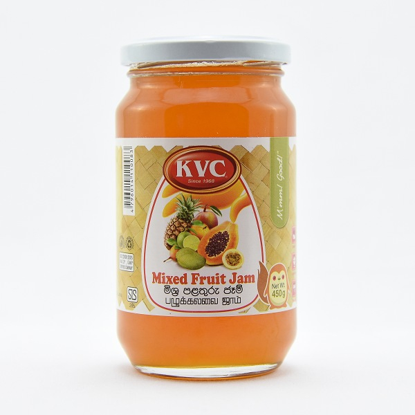 Kvc Mixed Fruit Jam 450g