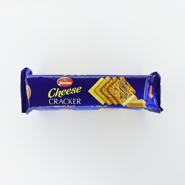 Munchee Cheese Cracker Biscuit 200g