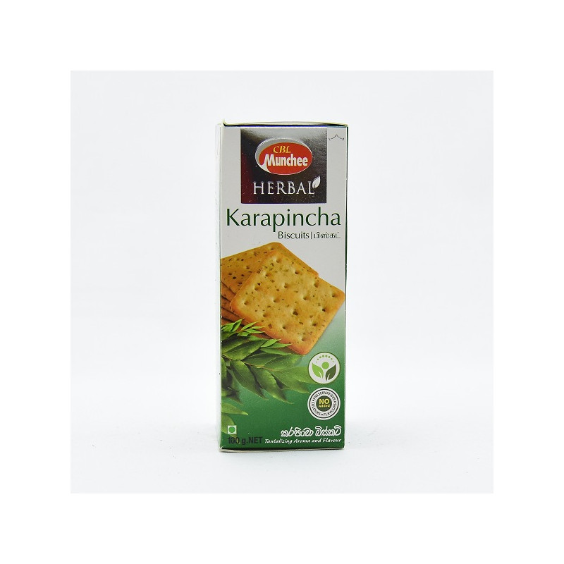 Munchee Herbal Karapincha Biscuit 100g