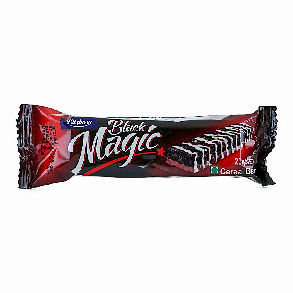 Ritzbury Black Magic Cereal Bar 20g