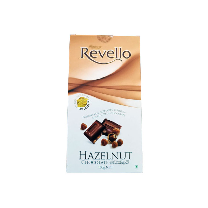 Ritzbury Revello Hazelnut Chocolate 100g